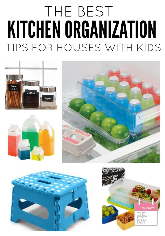 Kitchen organization tips to foster your child s for Best kitchen organization ideas