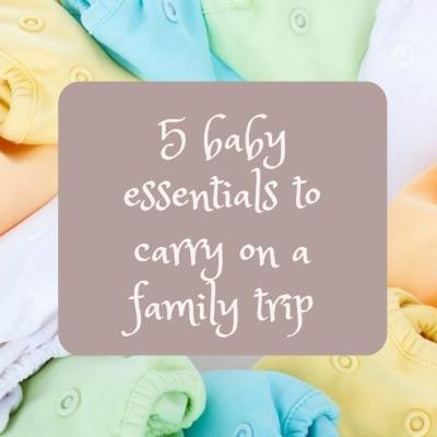 5 baby essentials