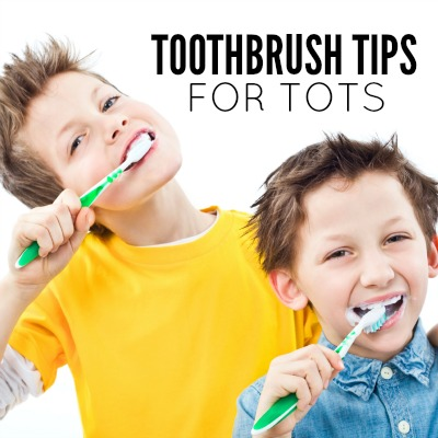Smiley Kids, 4 Toothbrush Tips for Tots 2
