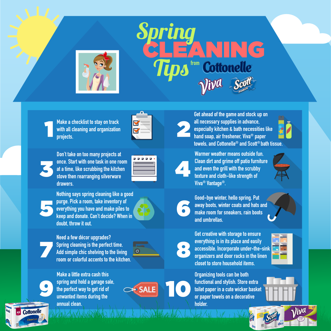 10 ways to make spring cleaning fun today 39 s the best day What is spring cleaning