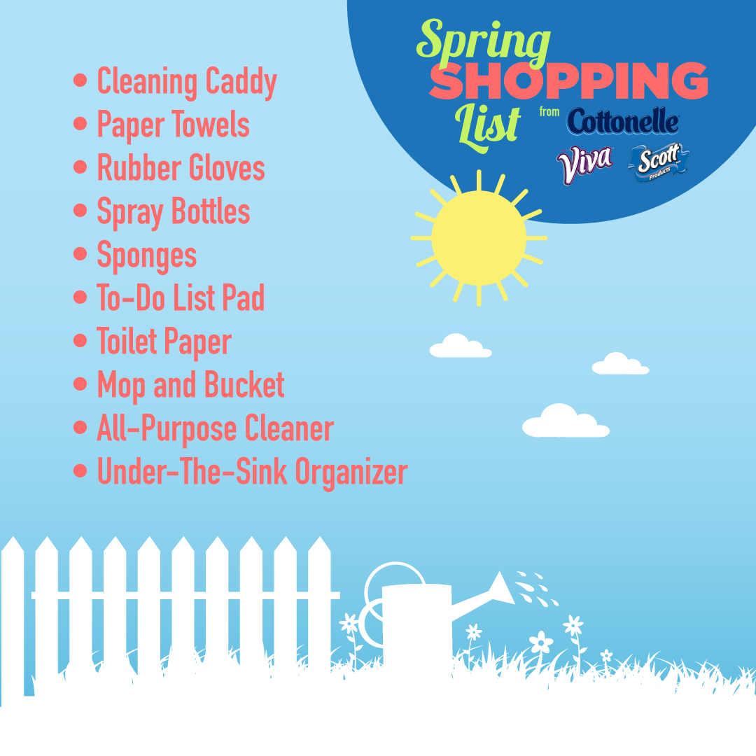 10 ways to make spring cleaning fun - today's the best day