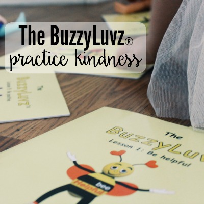 The BuzzyLuvz® Practice Kindness 6