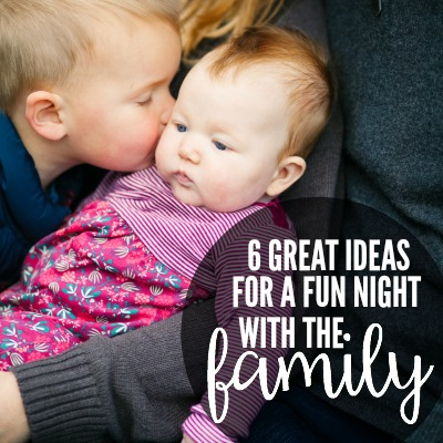 great ideas for family night