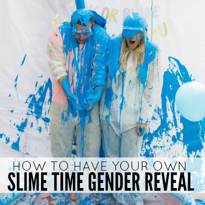 SLIME TIME GENDER REVEAL