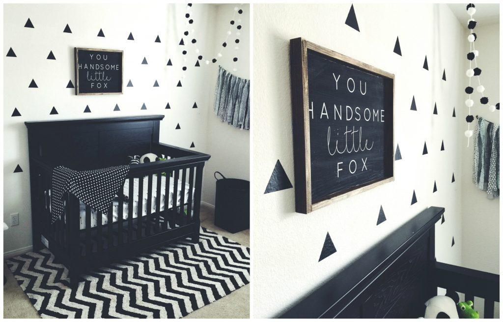 Black And White Nursery 7