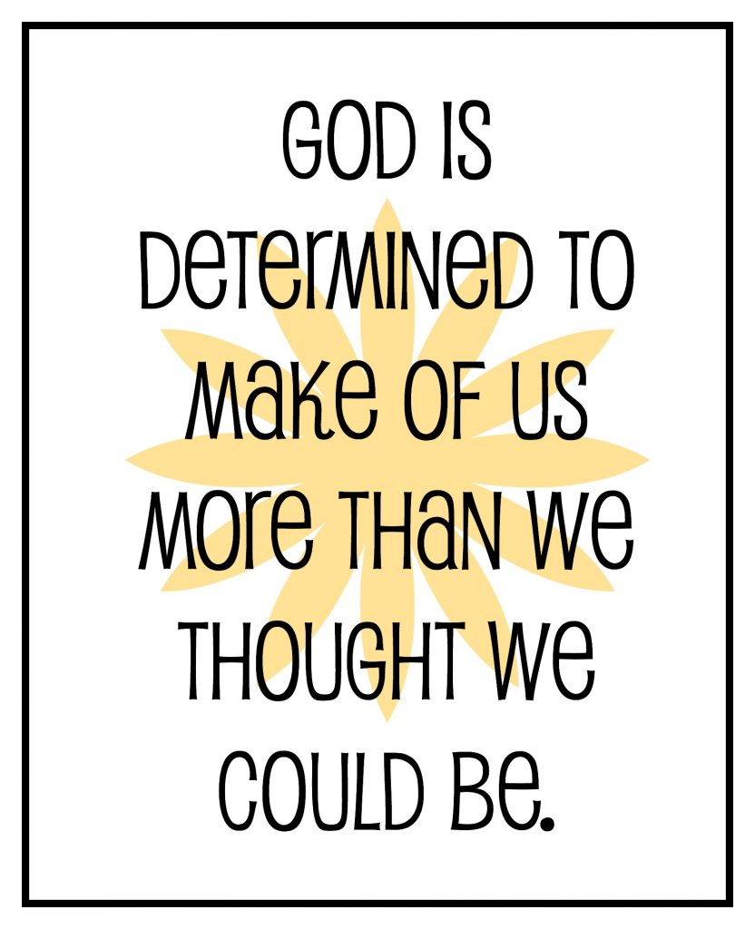god is determined