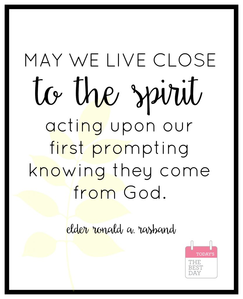 live close to the spirit