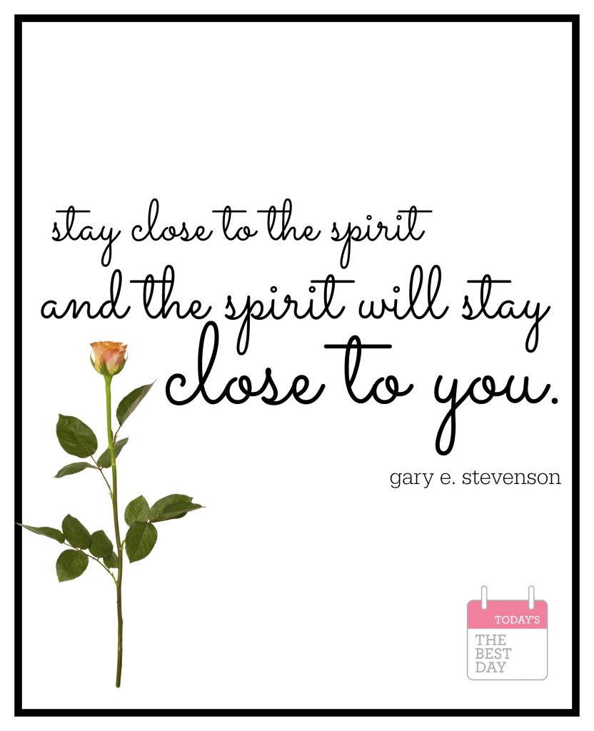 stay close to the spirit