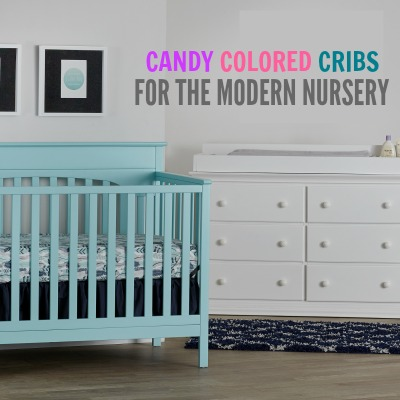 CANDY COLORED CRIBS