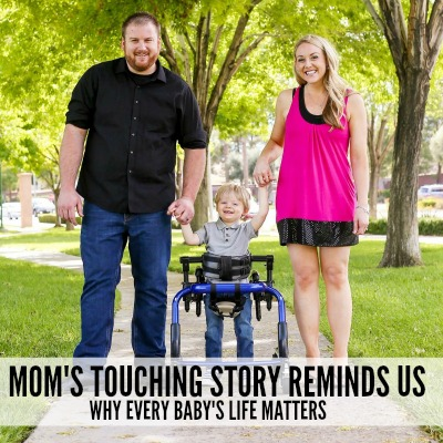 Mom's Touching Story Reminds Us Why Every Baby's Life Matters 2