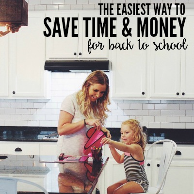 The Easiest Way To Save Time and Money For Back To School 2