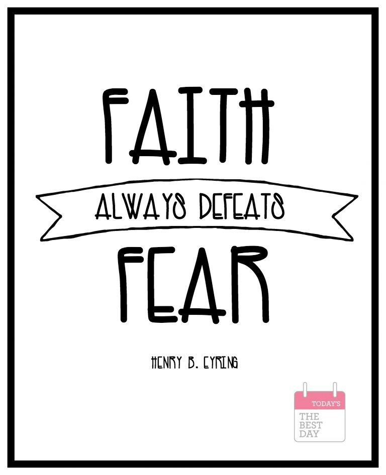 FAITH FEAR