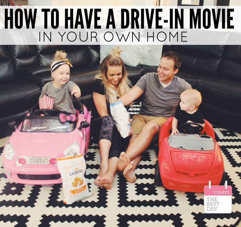 How TO Have A Drive In Movie In Your Own Home