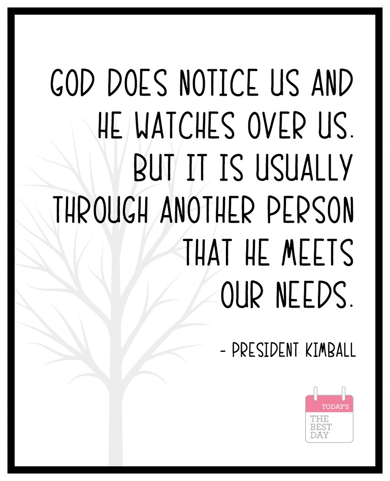 GOD DOES NOTICE US