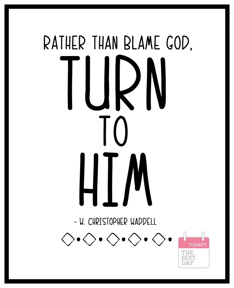 TURN TO HIM