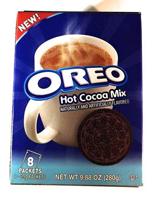 12 OREO HOT CHOCOLATE