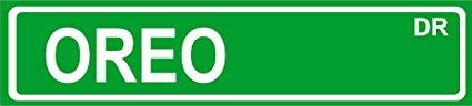 19 OREO STREET SIGN