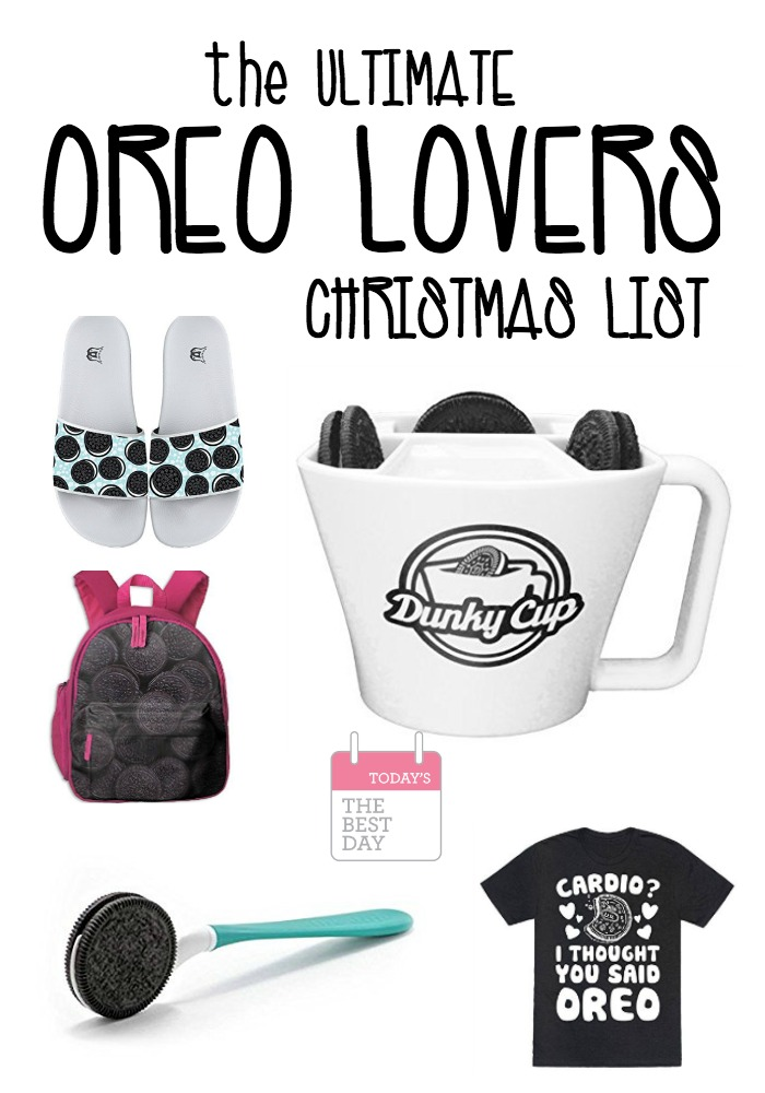 THE OREO LOVERS CHRISTMAS LIST