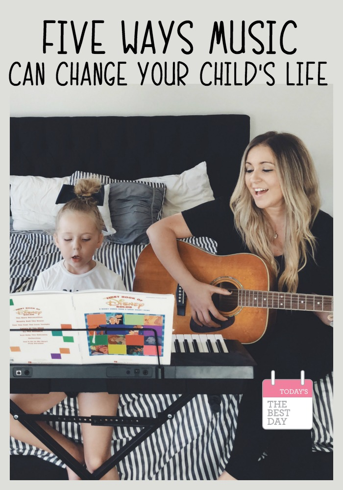 5 Ways Music Can Change Your Child's Life
